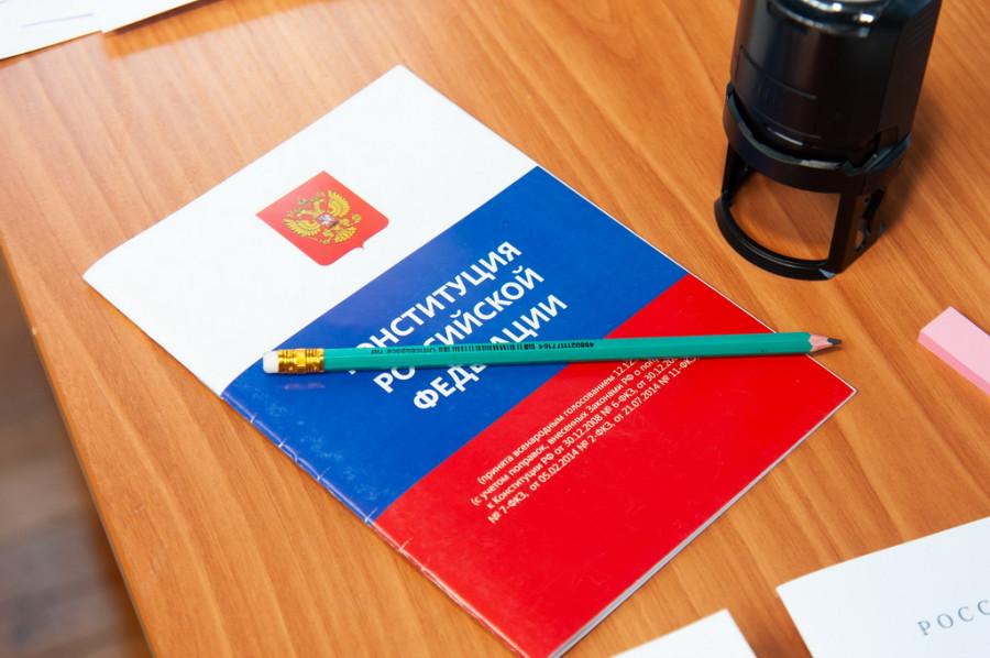 В условиях пандемии за поправки в Конституцию РФ можно проголосовать на дому.