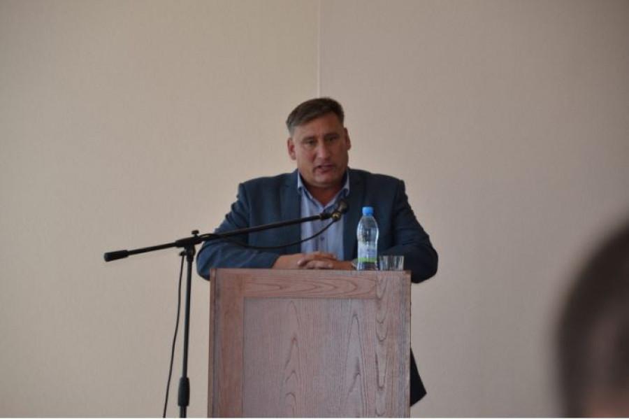 Сергей Демиденко, председатель Бийского райсовета депутатов.