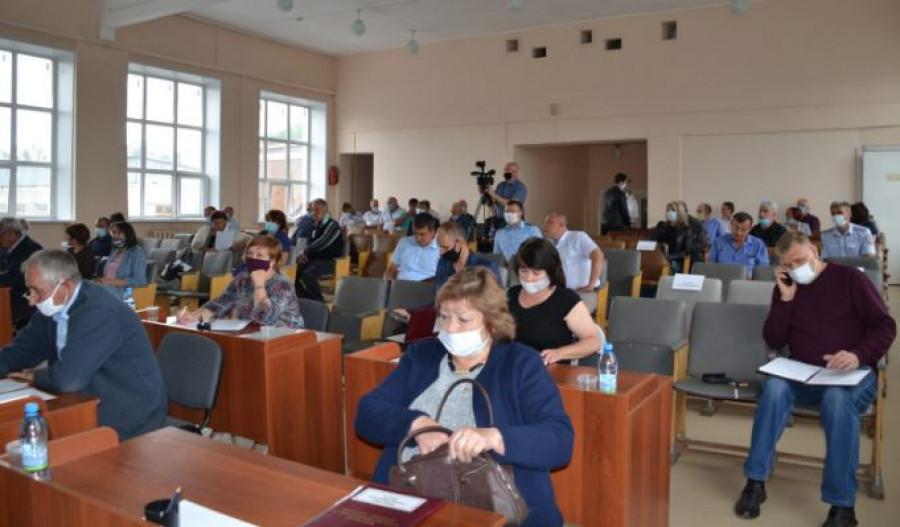 Сессия депутатов Бийского райсовета