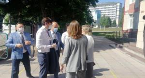 Министр просвещения РФ Сергей Кравцов в Белокурихе.