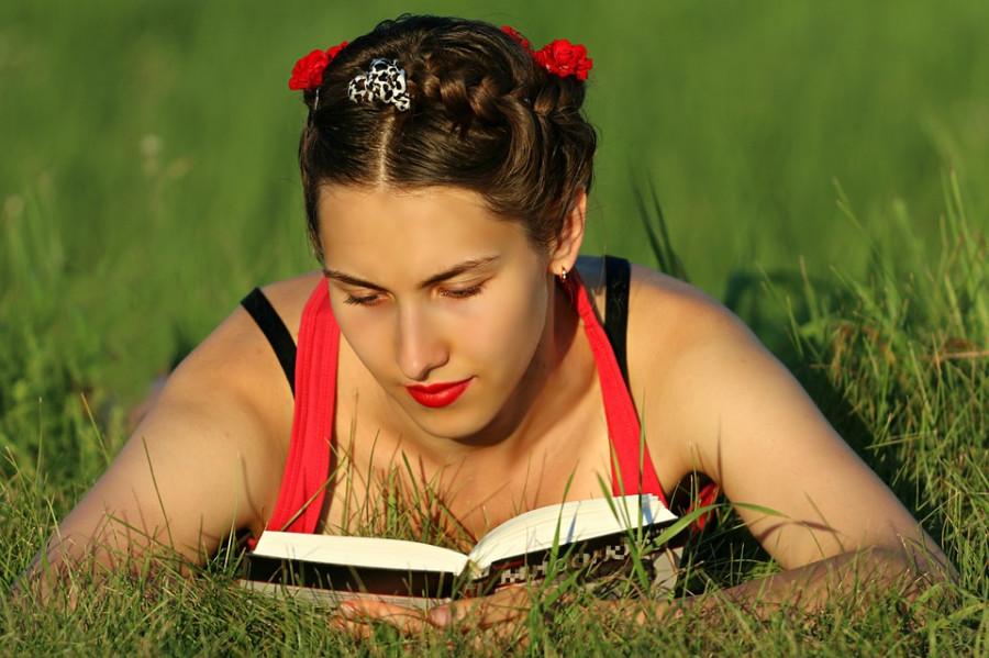Лето, книги, чтение