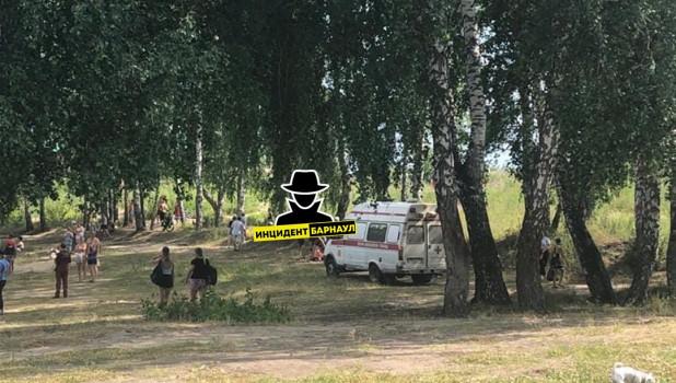 Место трагедии в п. Комсомольский.