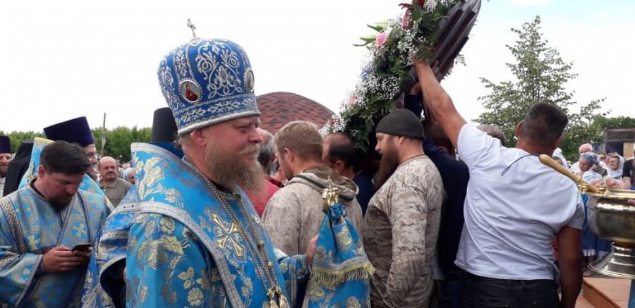 Торжества в селе Коробейниково.