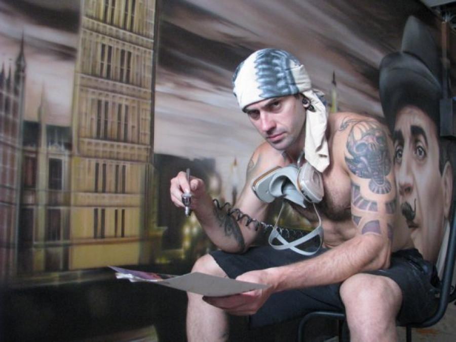 Михаил Тау, татуировка и боди-арт.