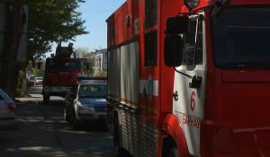 Пожар в Барнауле.