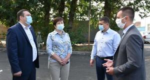 В Барнауле проверили качество дорожных работ.