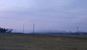 В Павловске горит свалка.