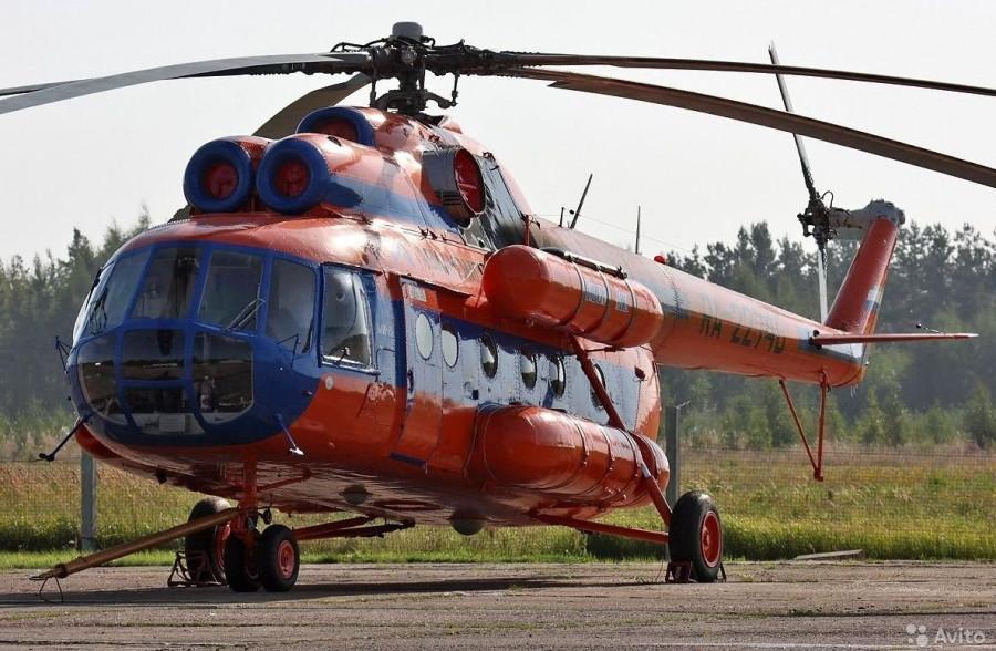 Вертолет Ми-8Т.