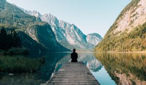 Медитация. Горы. Спокойствие.