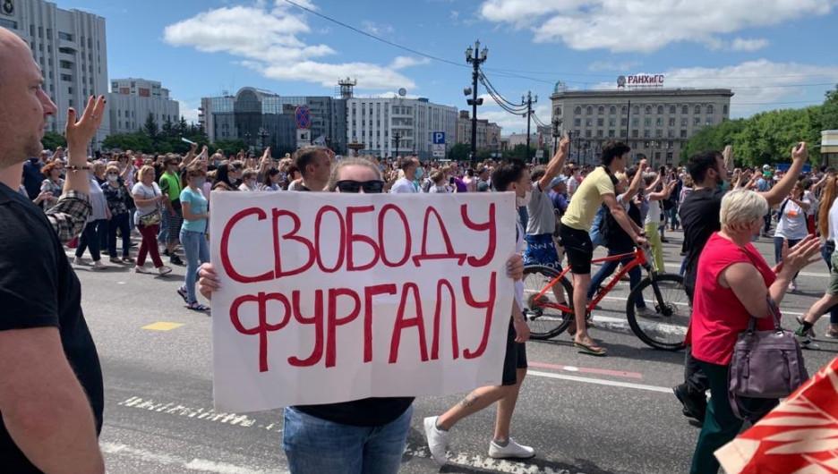 Мэр Хабаровска предупредил о последствиях стихийных митингов в защиту арестованного губернатора