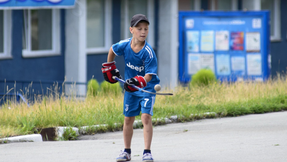 """Барнаульский Дворец спорта """"Титов-Арена"""". Июль 2020."""