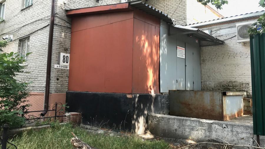 """Разгрузочная """"Марии-Ра"""" на ул. Крупской, 80."""