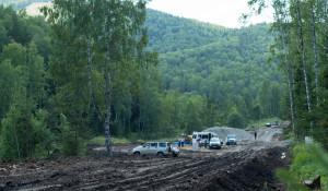 """Строительство дороги в """"Белокурихе-2""""."""