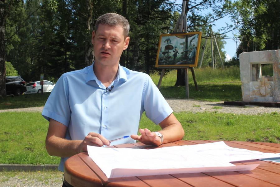 """Экскурсия в горнолыжный гластер """"Белокуриха-2 Горная""""."""