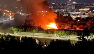 """На """"Спичке"""" произошел крупнейший пожар"""
