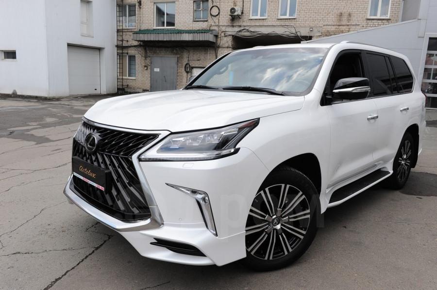 Десятка самых дорогих подержанных автомобилей в Барнауле в июле 2020 года. Lexus LX570