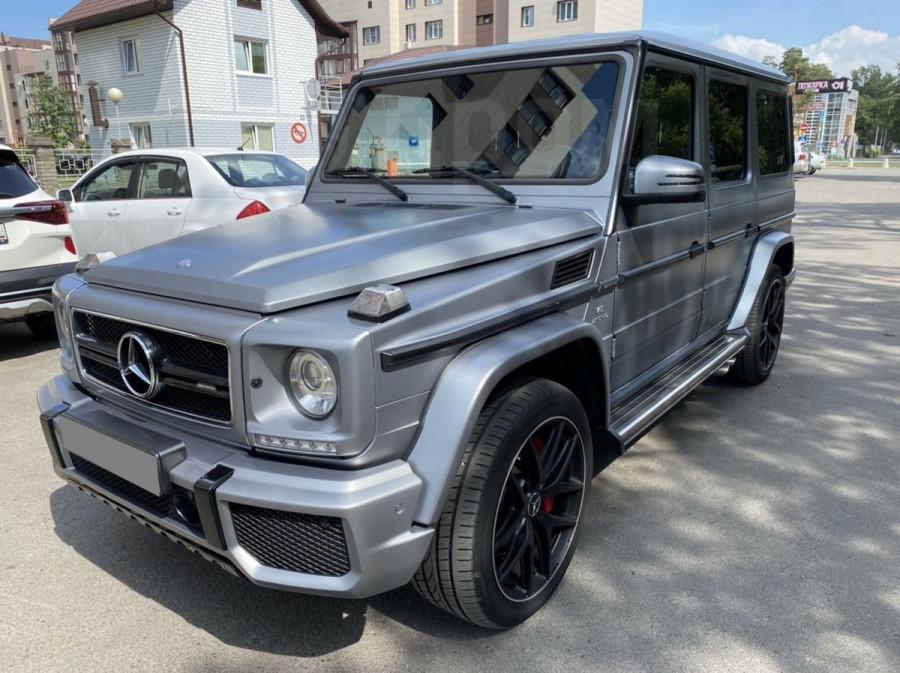 Десятка самых дорогих подержанных автомобилей в Барнауле в июле 2020 года. Mercedes-Benz G-Class