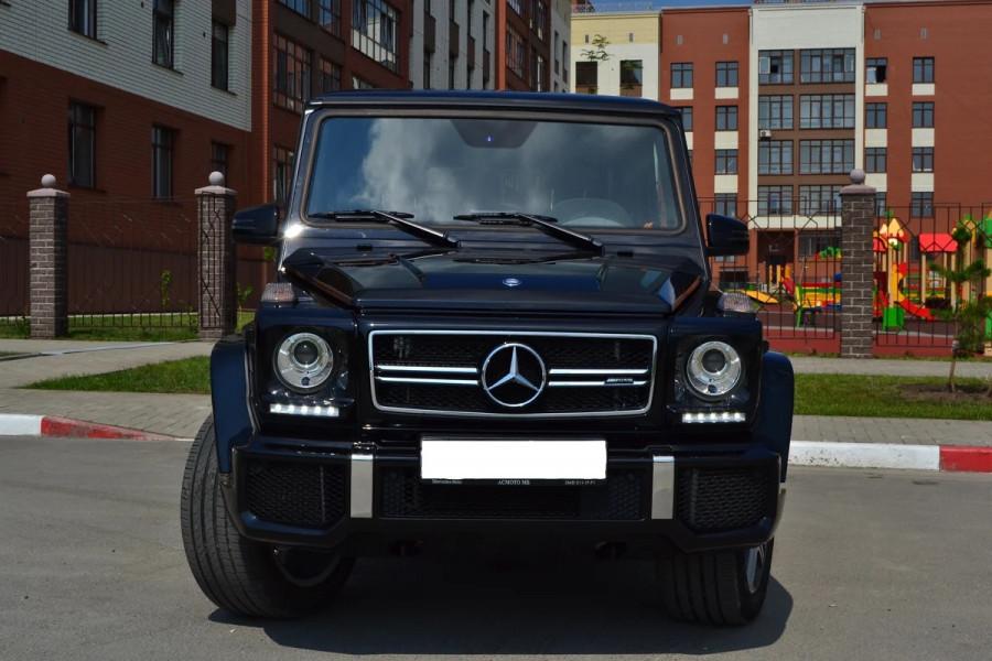 Десятка самых дорогих подержанных автомобилей в Барнауле в июле 2020 года. Mercedes-Benz G-Класс II (W463)