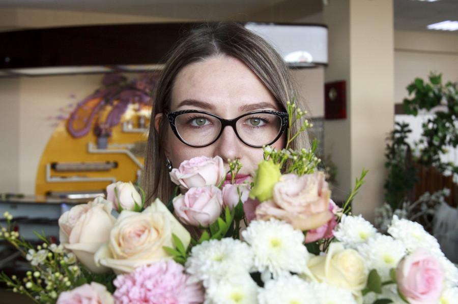 Флорист Татьяна Бородина.