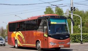 Междугородний автобус.
