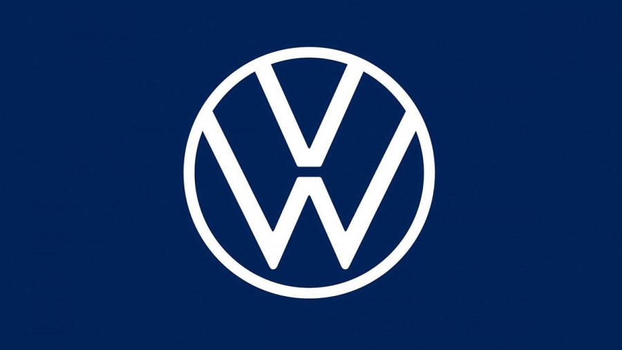 Обновленный логотип VolksWagen.