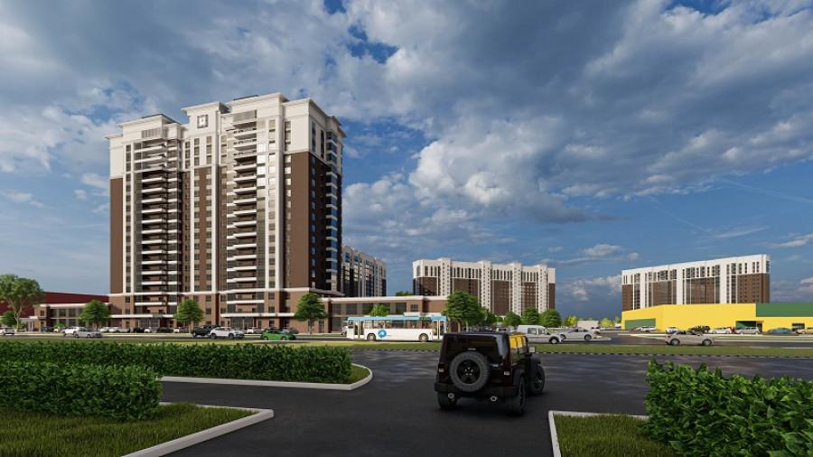Современный жилищный комплекс на ул. Власихинская, 65 а