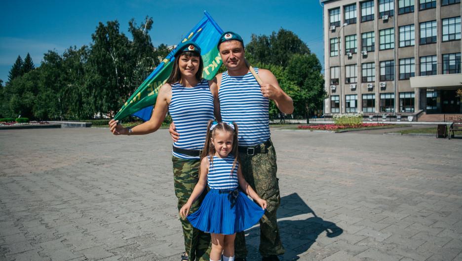 День ВДВ в Барнауле. 2 августа 2020 года.
