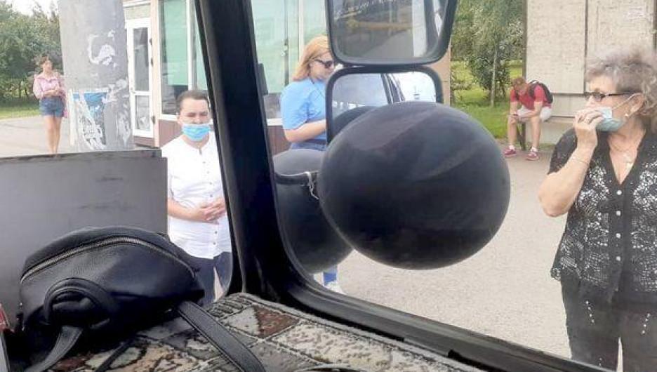 Траур по транспорту в Новокузнецке.