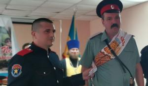 Евгений Пучков (справа) стал атаманом Пензенского отдельского казачьего общества.