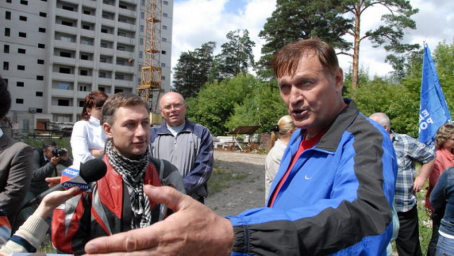 Первый командир алтайского ОМОНа Владимир Ванюшев