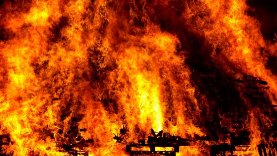 Огонь. Пожар.
