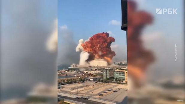 Взрыв в Бейруте унес жизни десятков человек