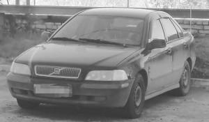 Автомобиль пропавшего.