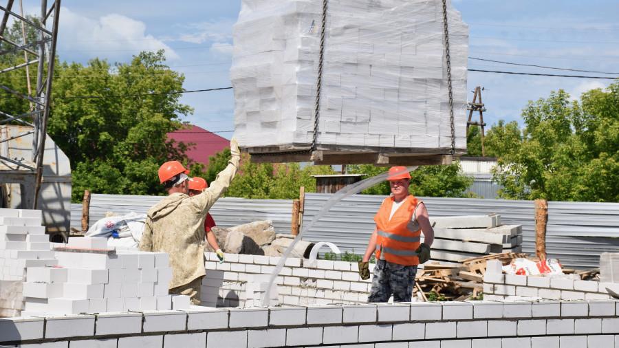 Строительство социальных объектов в Алтайском крае.
