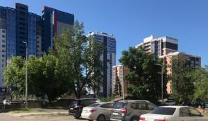 Новостройки в Барнауле.