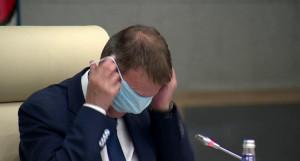 Вячеслав Франк и маска.