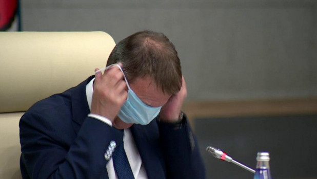 Мэр Барнаула оценил видео со своим масочным казусом
