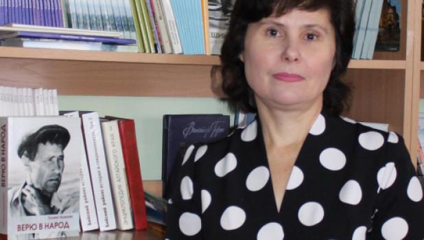 Новый директор музея Шукшина Марина Торопчина