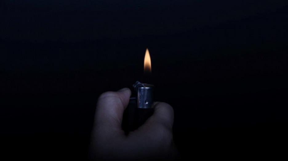 Зажигалка.