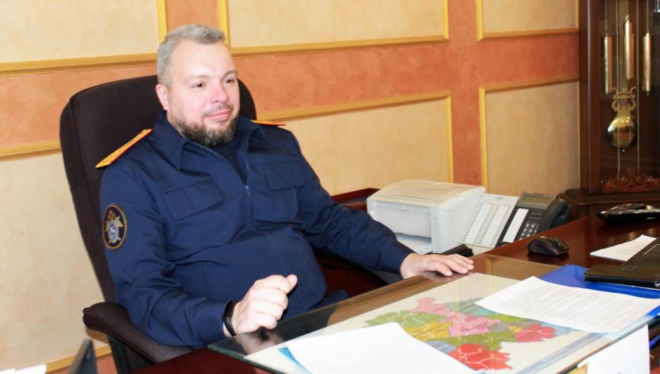 Андрей Хвостов, руководитель СУ СКР по Алтайскому краю
