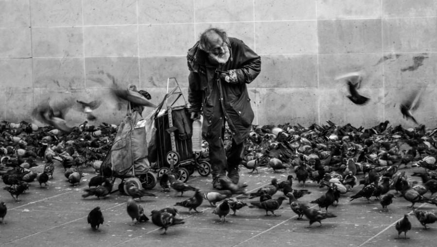Бедность. Бездомный.