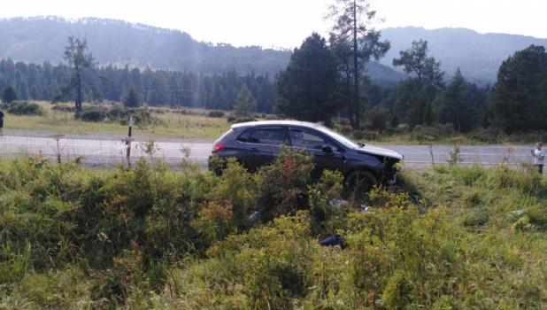 ДТП на Семинском перевале.