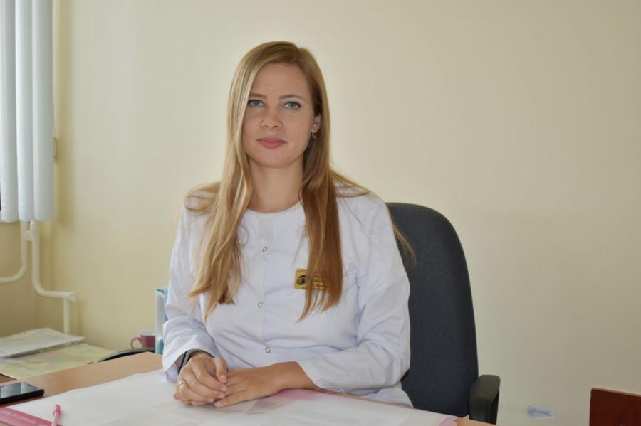 Анастасия Артюшенко, эндокринолог.