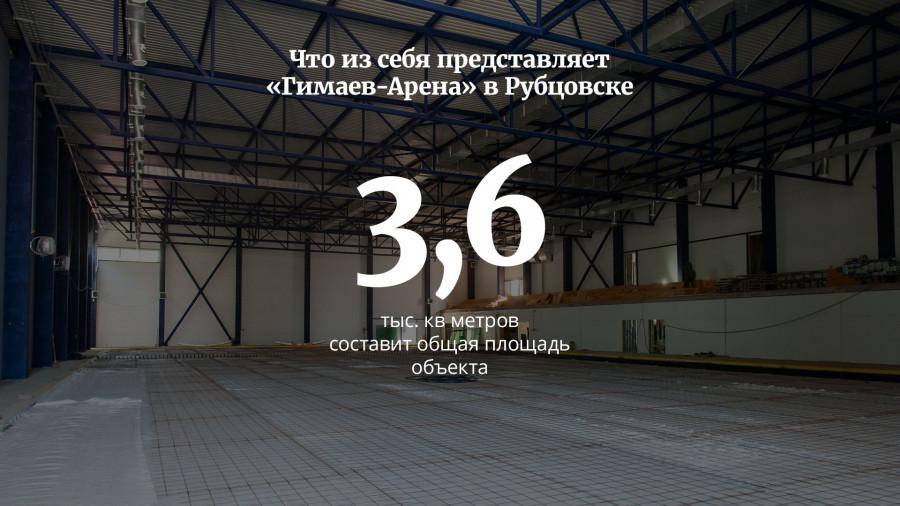 Что из себя представляет «Гимаев-Арена» в Рубцовске