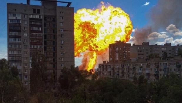 Взрыв автозаправки в Волгограде