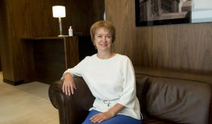 Эльвира Вебер, управляющий банком «Открытие» в Алтайском крае.