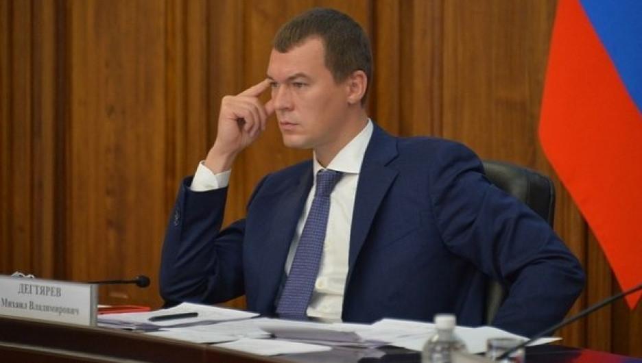 Михаил Дегтярев.