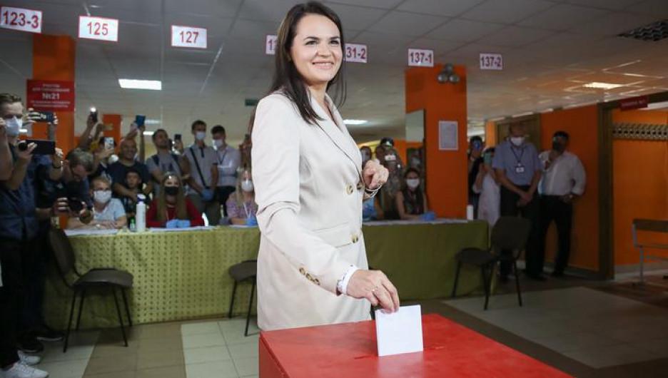 Видеообращение к Евросовету. Тихановская попросила не признавать итоги выборов в Белоруссии