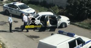В такси умер мужчина.