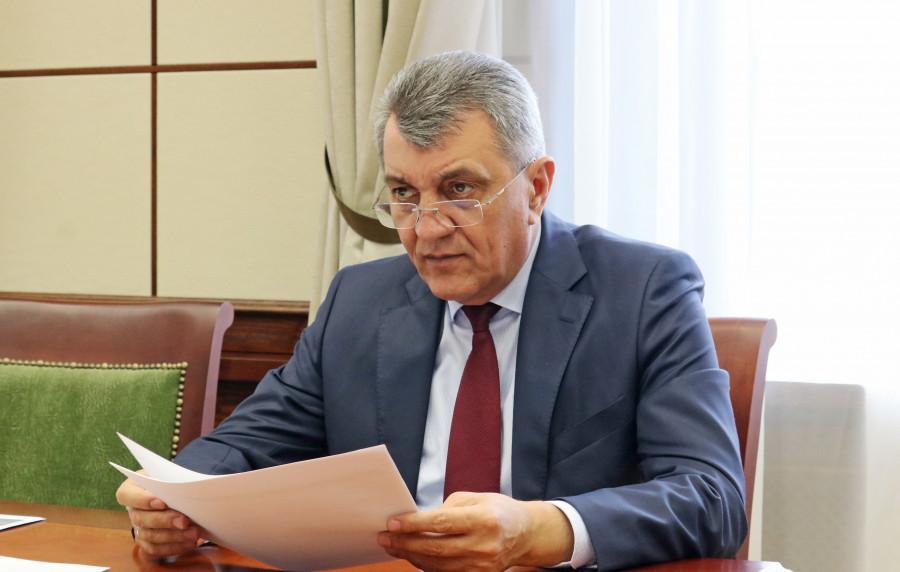 Полномочный представитель Президента Российской Федерации в Сибирском федеральном округе Сергей Меняйло